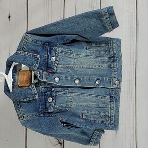 Levi's • 24 mth jean jacket denim trucker unisex